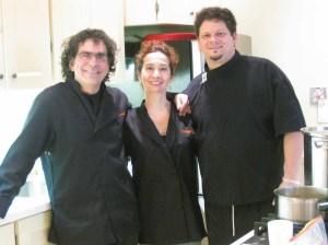 art and cuisine in Studio Italia