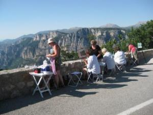 painting workshops in Tuscany Provence