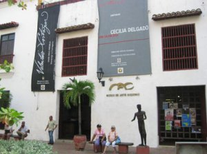 Painting workshop in South America Cartagena